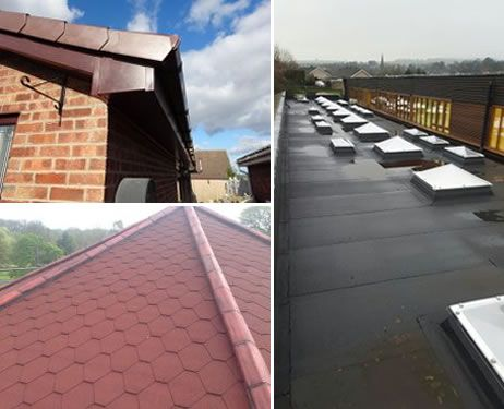 MAM Roofing services, based in Barnsley, specialising in tiling, felting, slate roofing and roof maintenance.